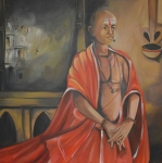 Artist: Praveen Upadhye<br> Titel : Dal Punj -<br> Medium: Acrylic on Canvas<br> Size: 36 x 36 Inches<br> Year : 2015